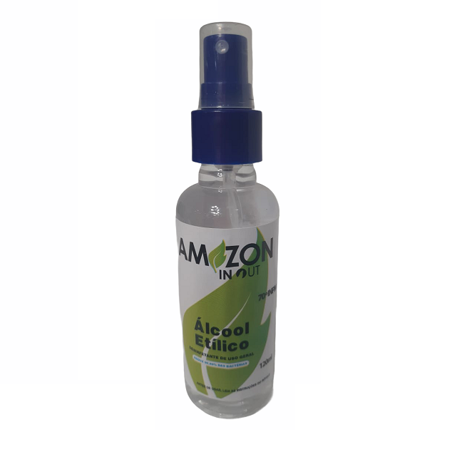 Álcool Etílico Hidratado 120ml Amazon In Out