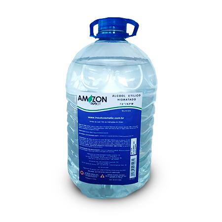 Álcool Etílico Hidratado 5 litros Amazon In Out