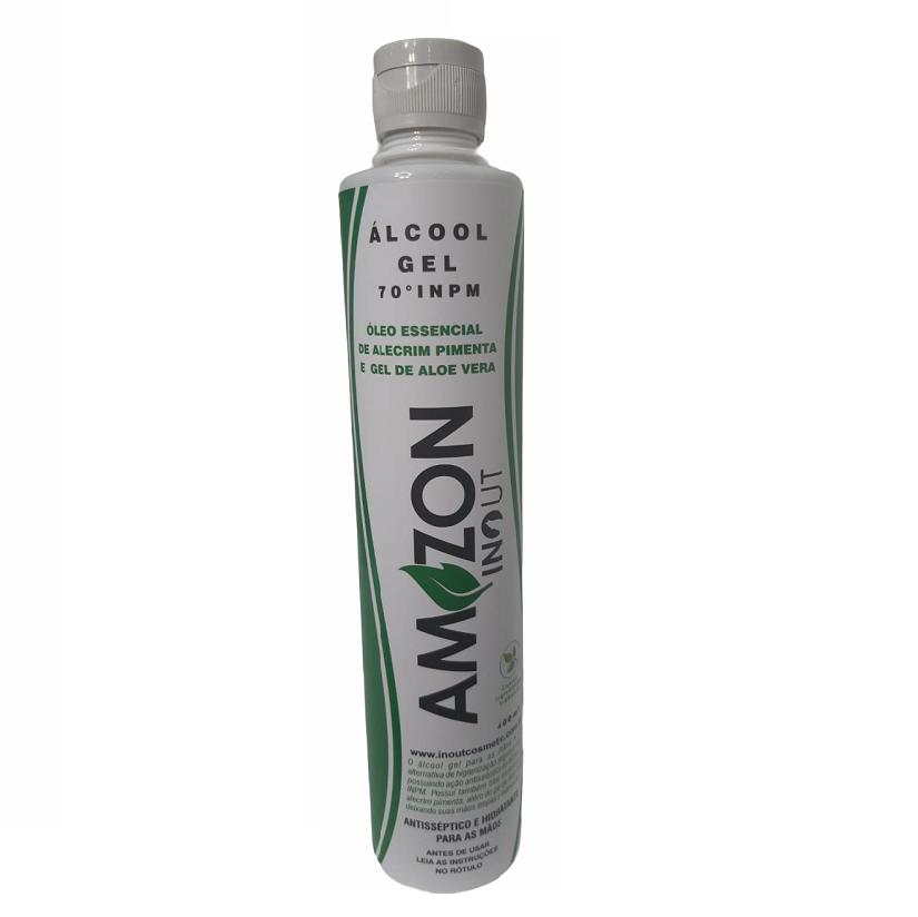Álcool gel 400ml Amazon In Out