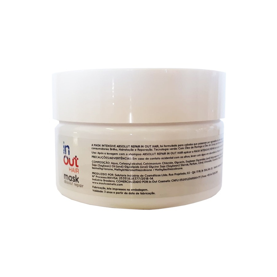 Mask In Out Hair Absolut Repair Cacay e Moringa 250g