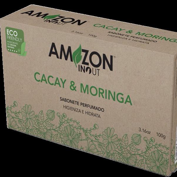 Sabonete Cacay e Moringa 100g