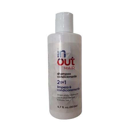 Shampoo 2x1 In Out Hair 200ml
