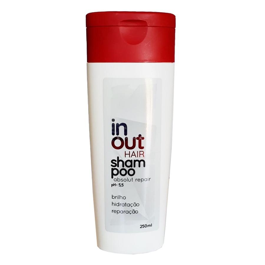 Shampoo In Out Hair Absolut Repair Cacay e Moringa 250ml